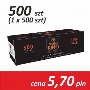 Gilzy papierosowe 1 x 500 sztuk