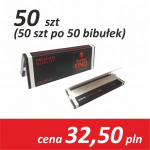 Bibułki papierosowe 70mm a`50 (50 opakowań)