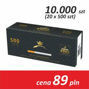 Gilzy papierosowe 20 x 500 sztuk (Legen Edition)