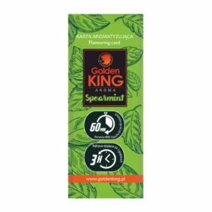 Karta aromatyzująca Golden King AROMA (spearmint)