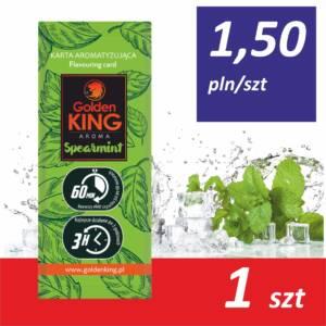 Karty aromatyzujące Golden King AROMA (spearmint)