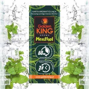 Karta aromatyzująca Golden King AROMA (menthol)