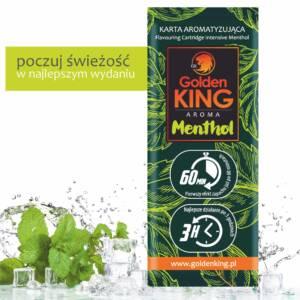 Karty aromatyzujące Golden King AROMA (menthol)