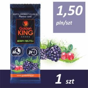 Karty aromatyzujące Golden King AROMA (berry fruits)